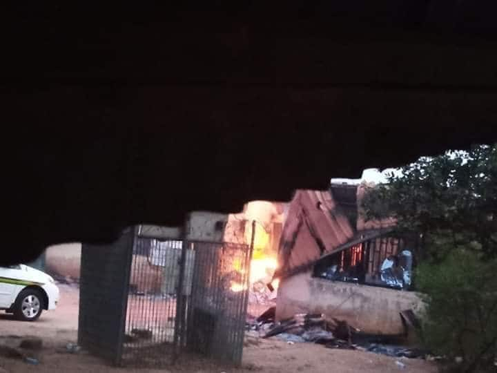 Imo INEC office on fire