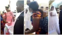 Woman disrupts wedding ceremony, claims she's married to the groom and has kids for him