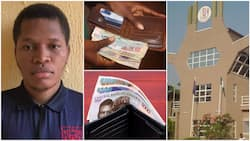 Nigerian 200-level student who returned wallet containing huge cash gets full scholarship at UNIBEN