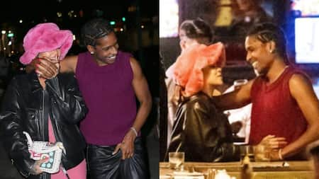 Rihanna, boyfriend ASAP Rocky spotted displaying enviable PDA while on date night