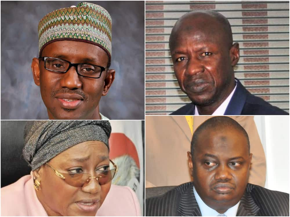 From Ribadu to Magu: How EFCC's ex-chiefs booted out of office as corruption fights back