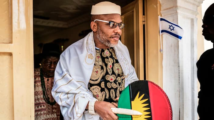 Ex-deputy Senate president proposes solution to ensure release of detained IPOB leader