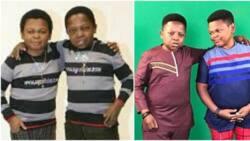 See interesting throwback photo of popular actors Osita Iheme and Chinedu Ikedieze