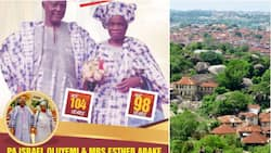 Just in: After 72 years of marriage, 98-year-old Nigerian wife dies few hours after learning of her 103-year-old husband's death (photo)