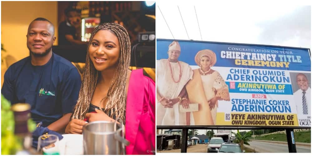 Media Personality Stephanie Coker Excited As She and Hubby Are Set to Bag Chieftaincy Titles in Owu Kingdom