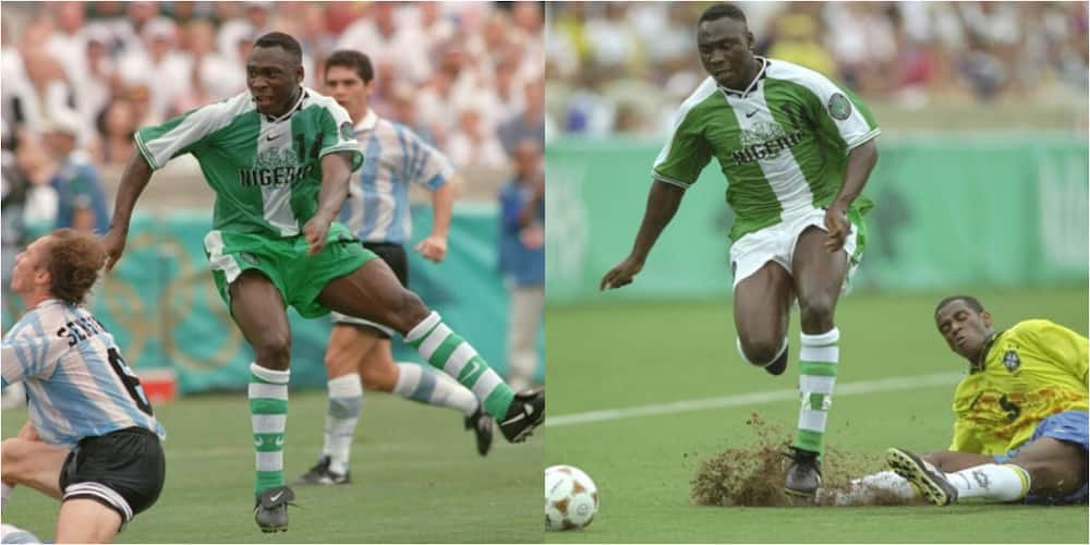 Super Eagles legend reveals how he and 2 other player became drivers during Atlanta 96' triumph