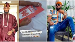 BBNaija's Prince happy as fans make him a landlord, give him cash gift days ahead of his birthday