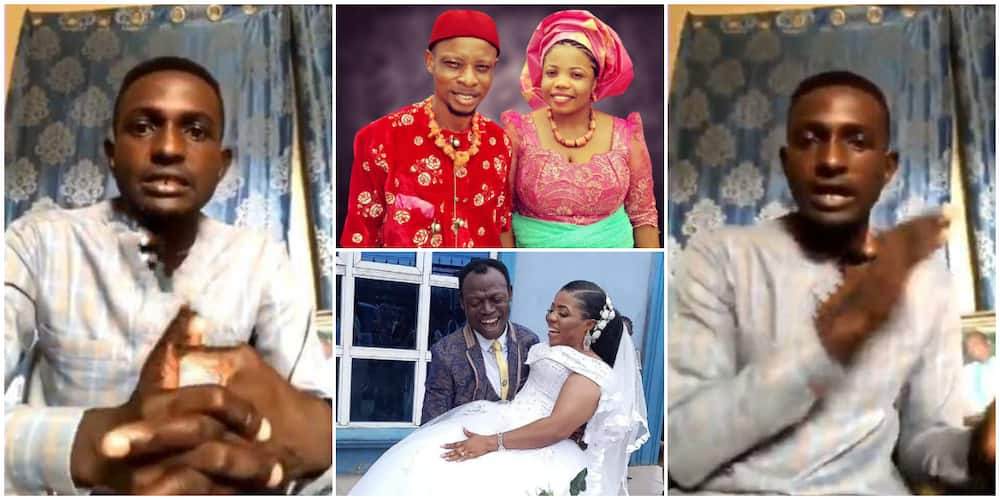 My dad has been married for 30 years to my mum; son of pastor who wedded member's wife speaks in new video