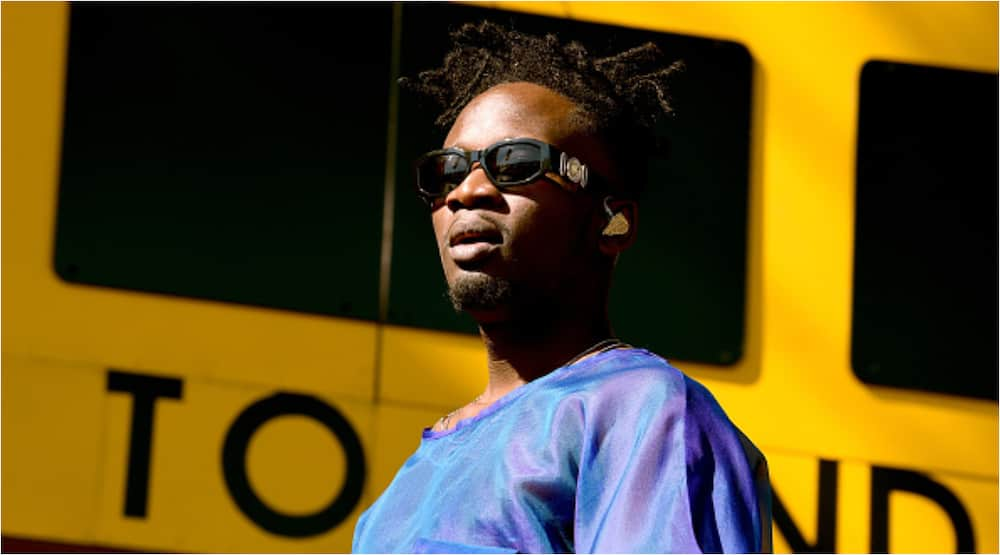 Mr Eazi wants his son to start boxing at 6 months old after watching Joshua win N29bn