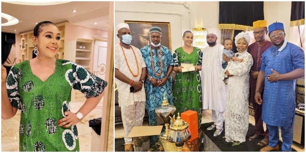 MC Oluomo's bae, Ehi Ogbegbor, installed as Yeye Oge of Ibadan land