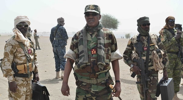 Details Chadian troops led by their President capture Boko Haram's arms store in Sambisa forest