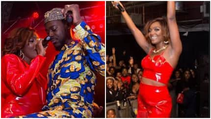 You are my champion, I love you - Talented female singer praises Adekunle Gold (photo)