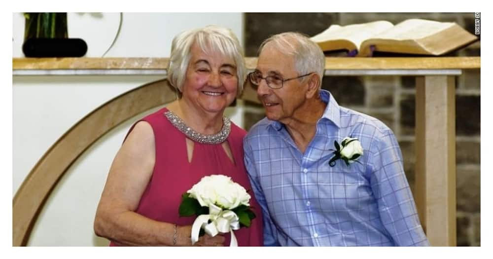 High school sweethearts reunite and marry after 68 years apart