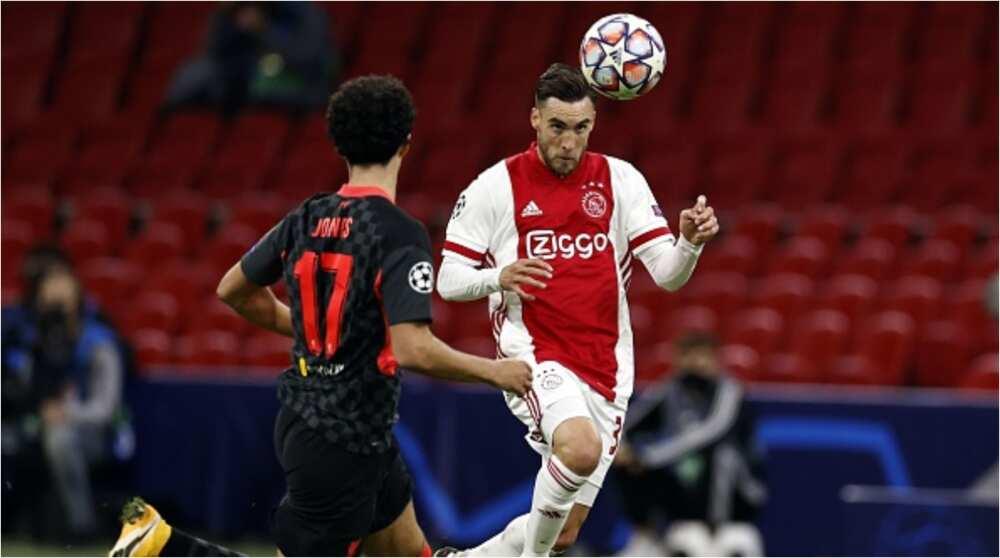 Ajax vs Liverpool: Nicolas Tagliafico's own-goal enough to hand English side 1-0 victory