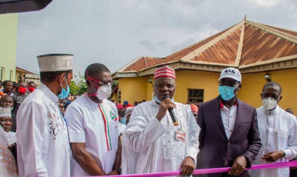 Obaseki, Kwankwaso commission Hajj camp in Benin days before Edo guber