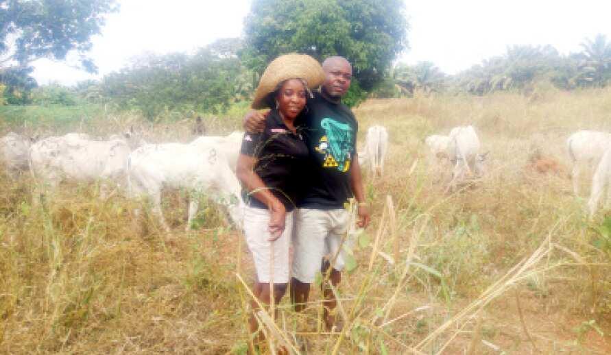 Meet Igbo herdswoman making waves online