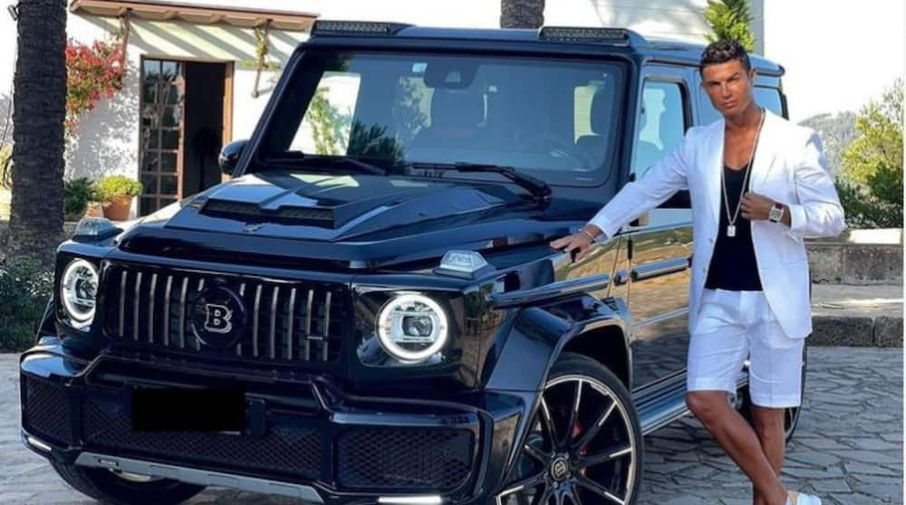 Portuguese Star Cristiano Ronaldo Splashes N280m on Exotic Mercedes Benz Brabus 800 Black Edition