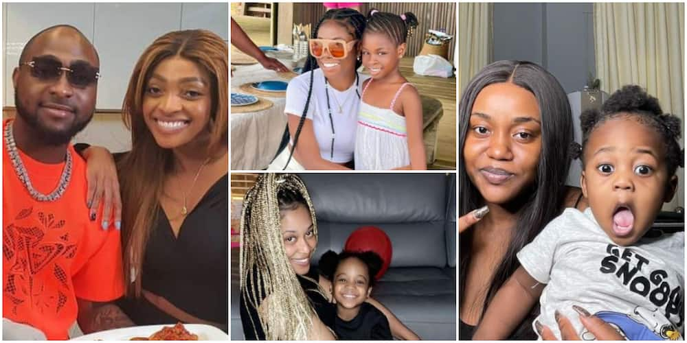 Davido's 3 Baby Mamas Celebrate Singer's Sister on Her Birthday with Lovely Photos, Video