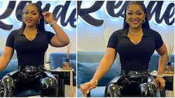 I'm nobody's ex: Mercy Aigbe declares days after ex-hubby's wedding, shows off body in black outfit