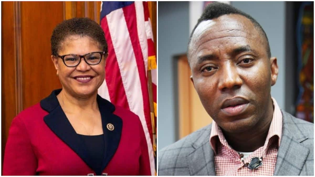 Image result for Sowore: US lawmaker calls for immediate release of Nigerian activist