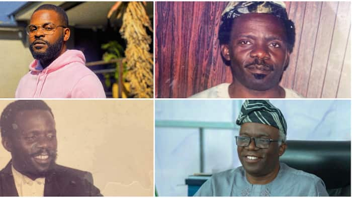 I'm blessed to be your son, rapper Falz celebrates dad Femi Falana's birthday, shares epic throwback photos