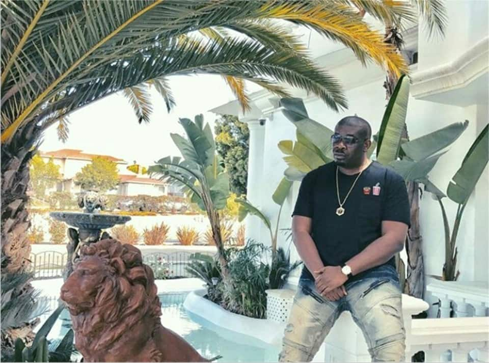 Don Jazzy's house in Los Angeles