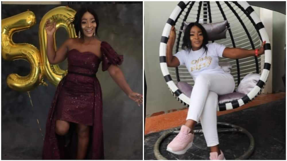 Nigerians lawyer leaves internet users in awe as she turns 50, shares photos