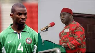 Jubilation as former Super Eagles midfielder sworn in as commissioner for sports in Abia state