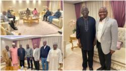 List: 5 Nigerian senators hit London for Tinubu, share photos
