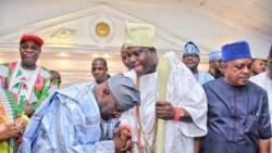 Atiku takes campaign to Ile-Ife, pays homage to Oba Adeyeye (photos)