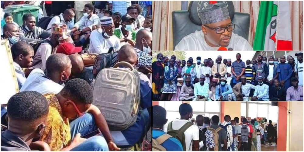 Fintiri sends 60 Adamawa students to India to study various engineering courses