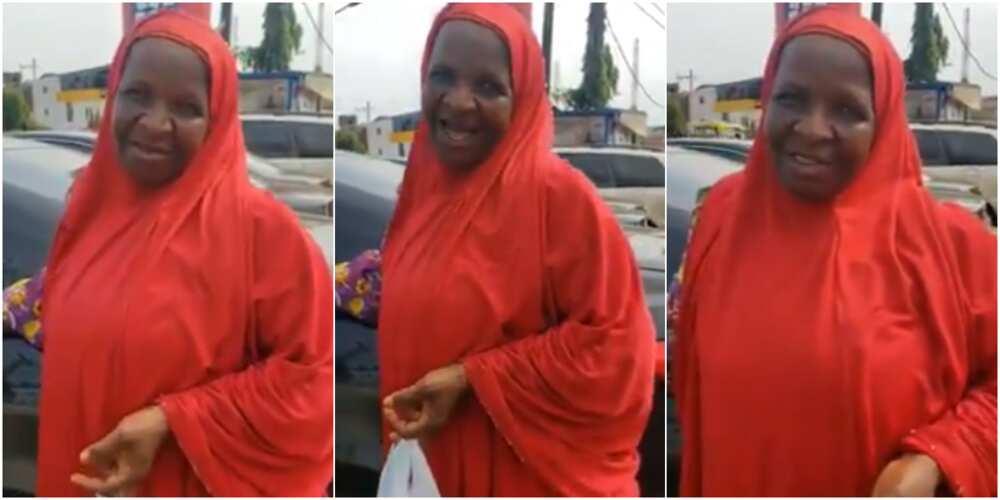 Bidiyon dattijuwa daga Sokoto tana magana da yaren Ibo tiryan-tiryan babu kuskure