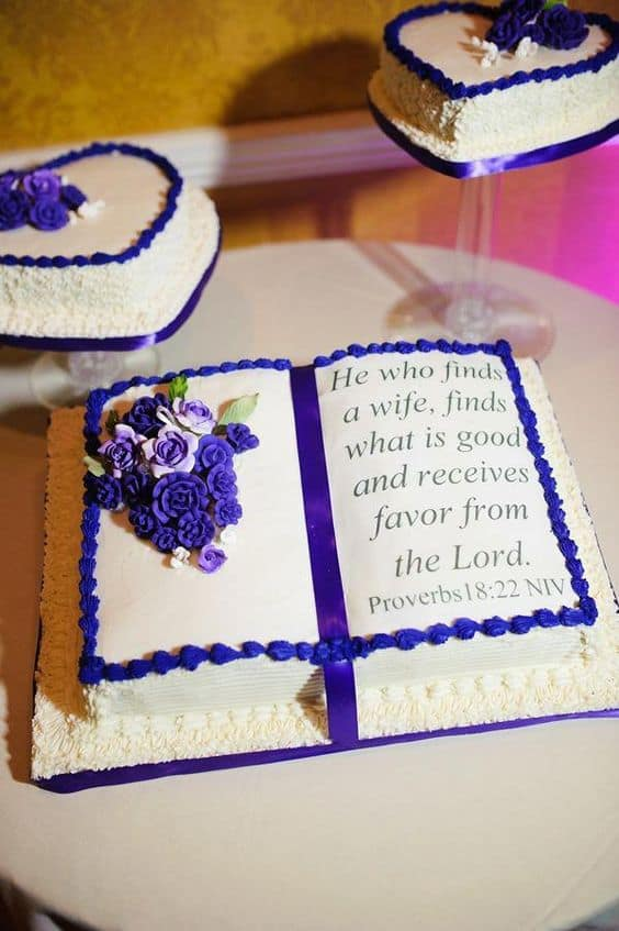 Terrific Open Bible Cake Design Ideas Legit Ng Personalised Birthday Cards Paralily Jamesorg
