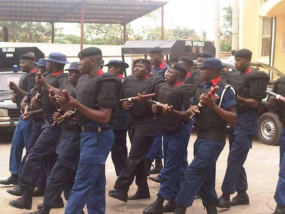 Nigerian Civil Defence salary