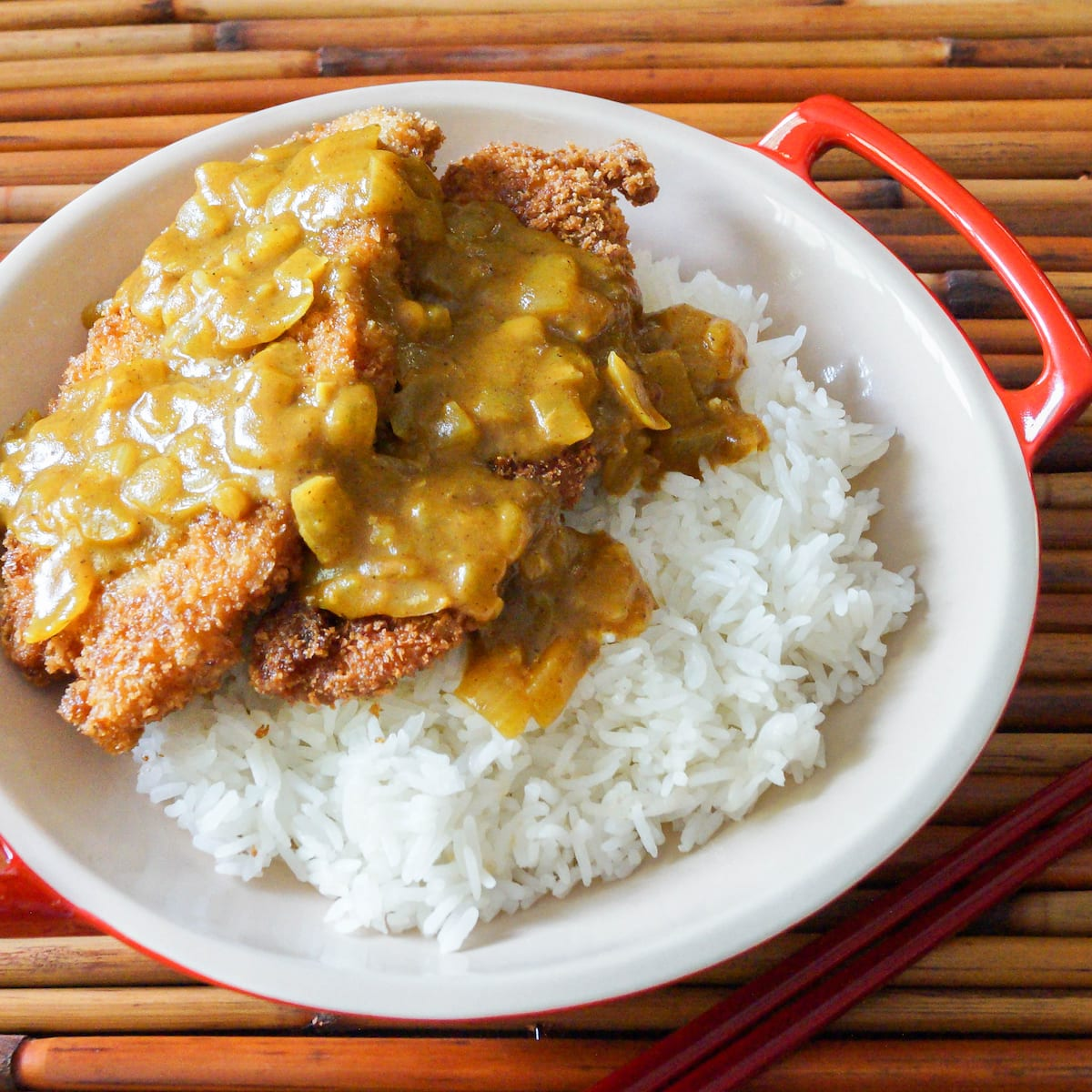 Chicken sauce for rice
