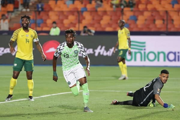 Nigerian star Samuel Chukwueze becomes youngest player to score at AFCON