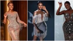 Lagos big girl: Slay like Nollywood actress Linda Osifo in these 5 bling-bling dresses