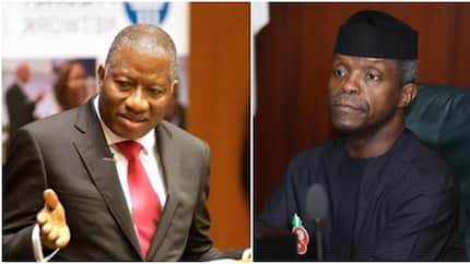 You lack moral authority to accuse me of corruption - GEJ tells Osinbajo