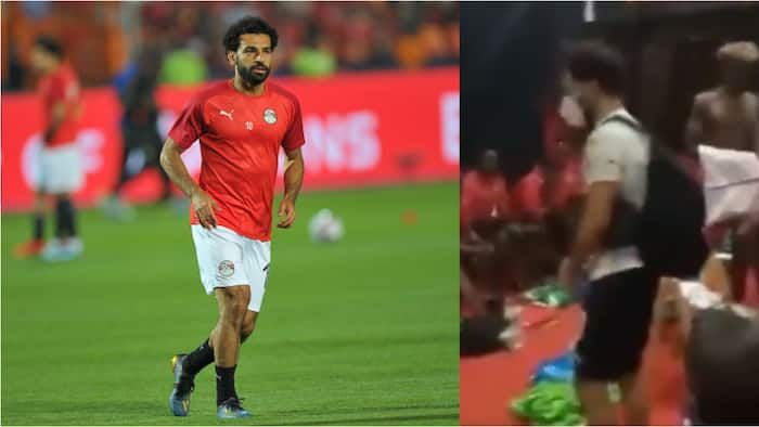 After Egypt ensured Kenya failed to qualify AFCON, Mohamed Salah surprises Harambee Stars