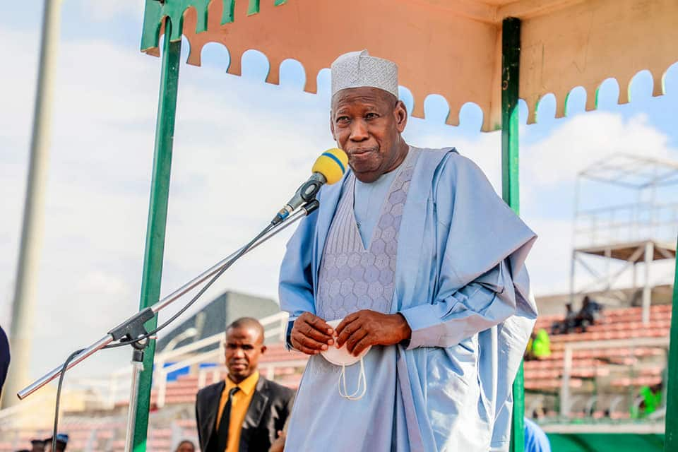 Governor Ganduje says Kano state has trained ,504 constables for community policing