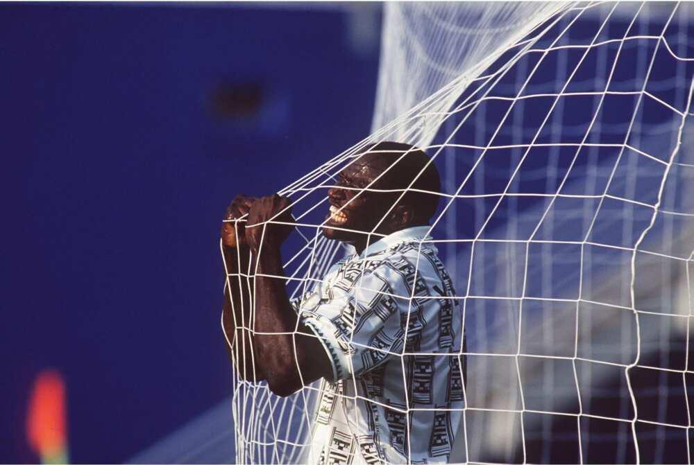 Rashidi Yekini.