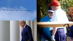 This is what Trump was spotted doing after leaving White House amid criticism (photo)