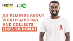 Jiji reminds about World AIDS Day and collects likes to donate