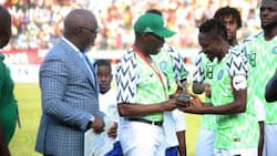 Eagles stars get N18m for scoring twice against South Africa despite referee disallowing Musa's goal