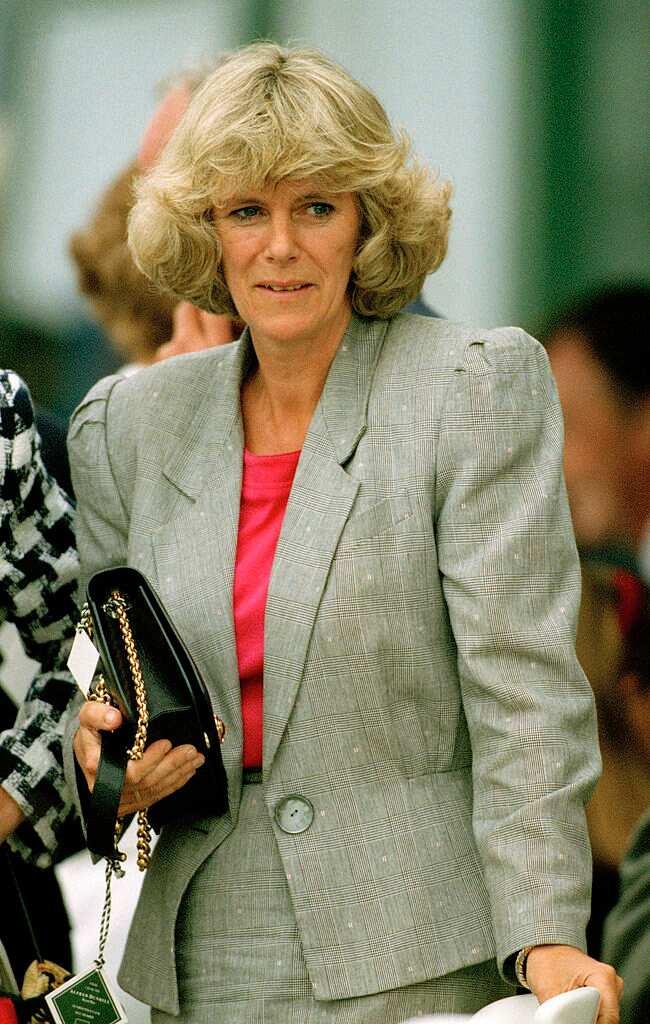 Camilla Parker Bowles à l'âge de 45 ans, en 1992.