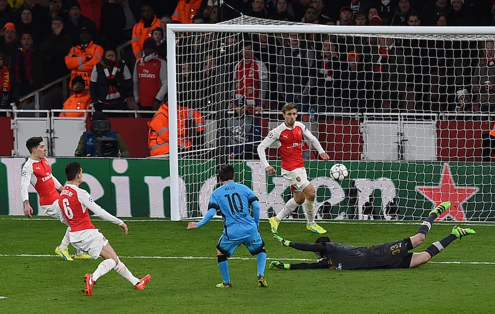 Petr Cech says it took Lionel Messi 10 games to score against him as goalkeeper