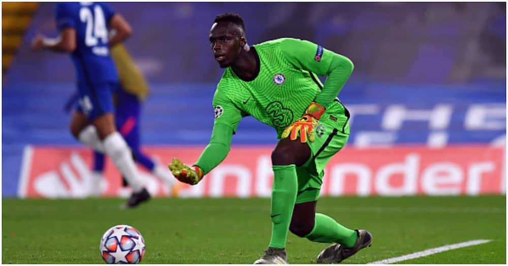 Edouard Mendy named Chelsea's first choice keeper