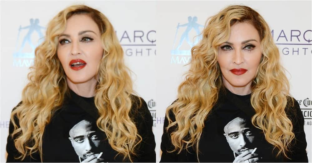 Madonna bravely shows off hip surgery scar to Instagram followers