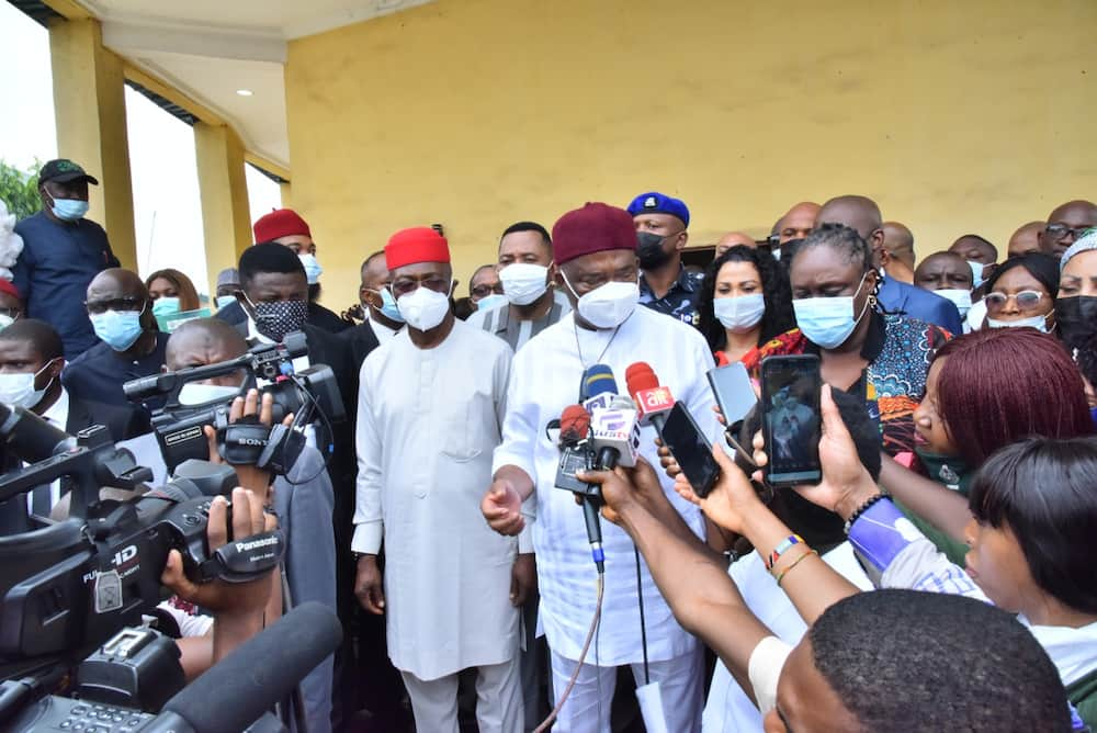 Imo prison attack: Nigerian governor holds emergency meeting with heads of security agencies