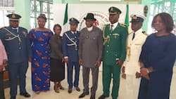 See how Nigerians celebrated Goodluck Jonathan in Mali (photos)